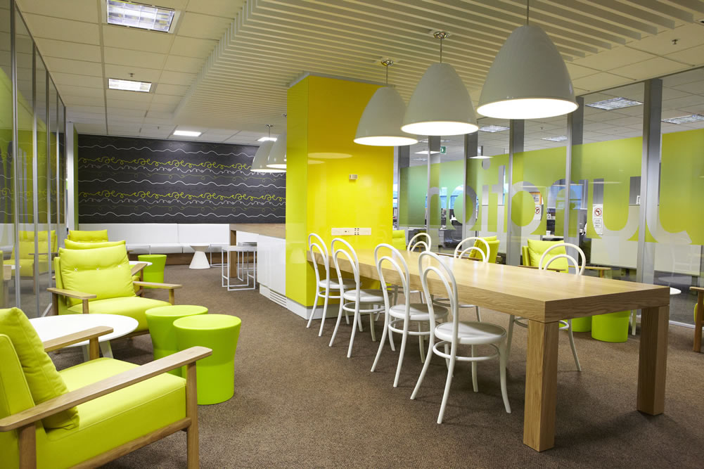 Shell company of australia head office fit out for Office fit out