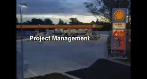shell coles fuel retail australia project programme management video meinhardt