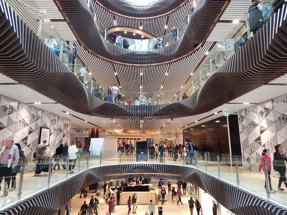 Melbourne S Largest Shopping Centre Emporium Opens