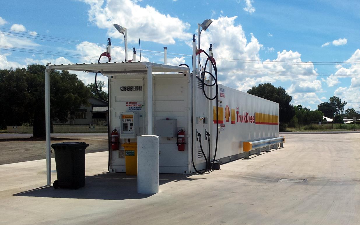 Roma CRT bulk fuel facility