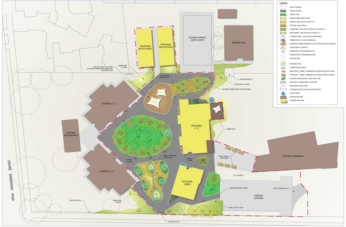Dingley Primary School Landscape Architecture